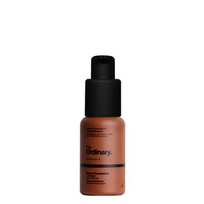 The Ordinary Bottle of The Ordinary Serum Foundation 3.2 R deep with red undertones