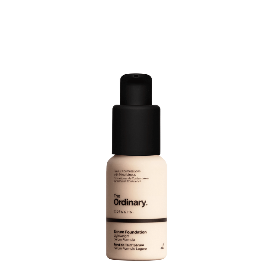 The Ordinary Bottle of The Ordinary Serum Foundation 1.1 N fair with netural undertones