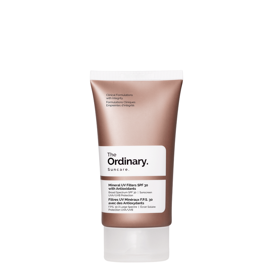 The Ordinary The Ordinary Mineral UV Filters SPF 30 with Antioxidants broad spectrum UVA UVB protection