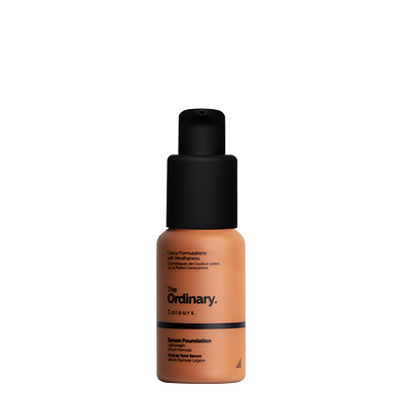 The Ordinary Bottle of The Ordinary Serum Foundation 3.1 Y dark with yellow undertones