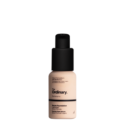 The Ordinary Bottle of The Ordinary Serum Foundation 1.0 N very fair with neutral undertones