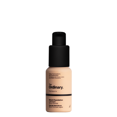 The Ordinary Bottle of The Ordinary Serum Foundation 1.2 N light with netural undertones